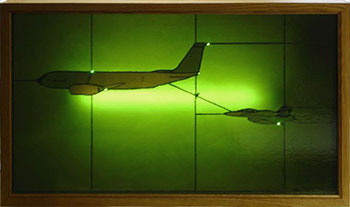 KC-135 Stained Glass