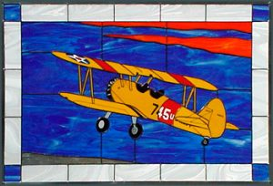 Stearman N2S - Stained Glass