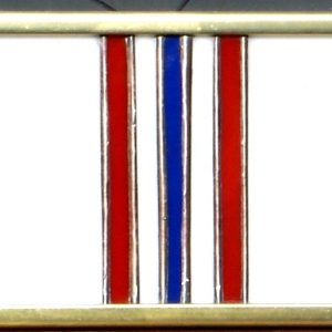 Afghanistan Service Ribbon - Stained Glass