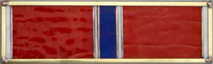 Bronze Star Service Ribbon - Stained Glass