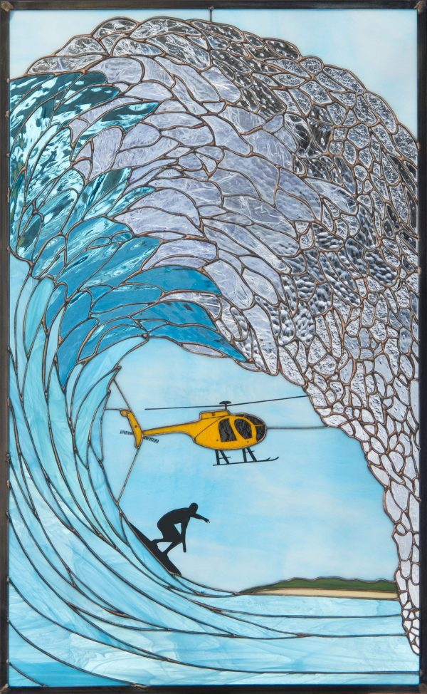 Copter Curl - Stained Glass