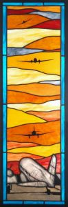"DC-3s, ""Plane Time"" Stained Glass"