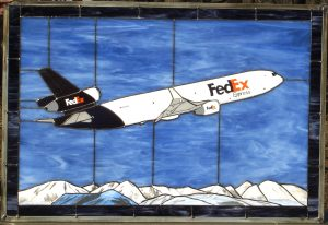 FedEx MD-11 Stained Glass