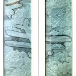 Great Lakes Etched Door Panels