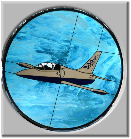 L-39 Stained Glass