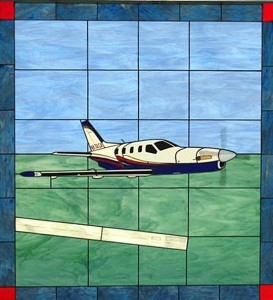 Socata TBM 850 Stained Glass