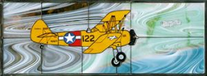 Stearman N2S5 Stained Glass