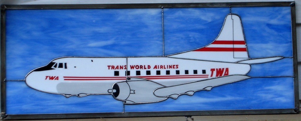 TWA Martin 4-0-4 Stained Glass