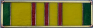 Vietnam Service Ribbon - Stained Glass