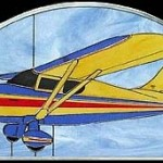 Stinson 108-3 Stained Glass