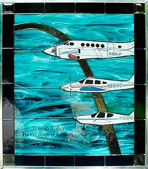 St. Louis U. 3-plane tribute