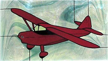 Stinson Voyager Stained Glass