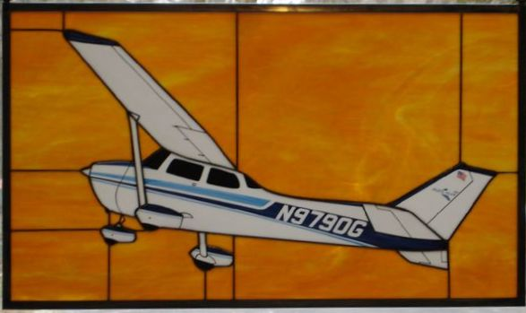 Cessna 172N Stained Glass