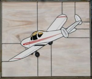 Ercoupe Stained Glass