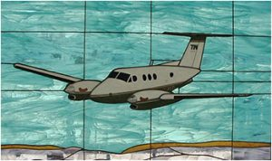 KingAir F90 Stained Glass