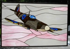 SPITFIRE Mk. V Stained Glass