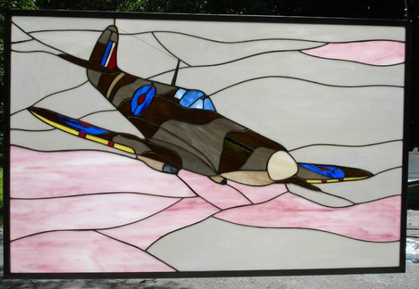 SPITFIRE Mk. V Stained Glass