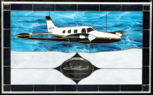 Piper PA-31T Cheyenne Stained Glass