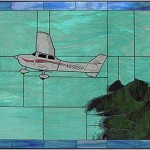 Cessna 172SP Stained Glass