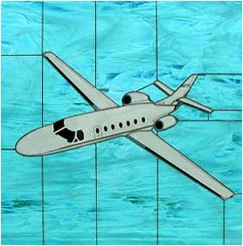 Cessna CITATION 560 Stained Glass