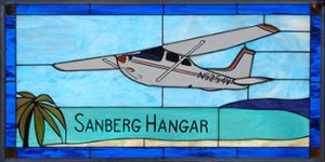 Cessna 172RG Stained Glass