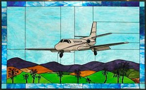 Cessna CITATION 550 Stained Glass