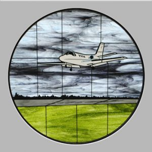 Citation 501 Stained Glass