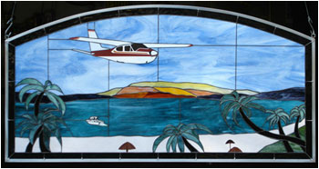 Cessna 177RG Stained Glass