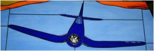 F4U Corsair Stained Glass