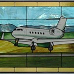 Gulfstream IV Stained Glass