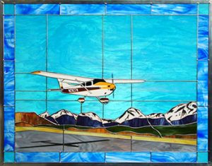 "Cessna 182, ""Rocky Mountain Short Final"""