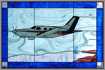 Piper Malibu Stained Glass