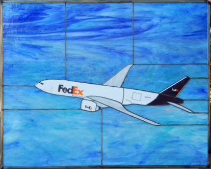 FedEx 777 At Altitude!