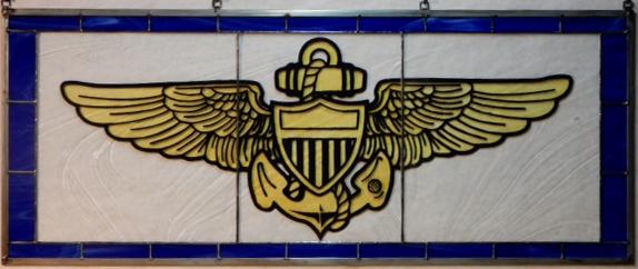 Presentation of Naval Wings Window