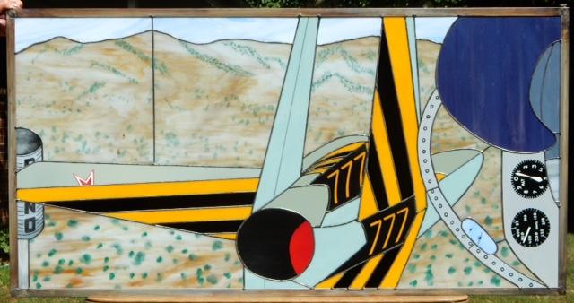 "L-39, ""At the pylon break at RENO!"""