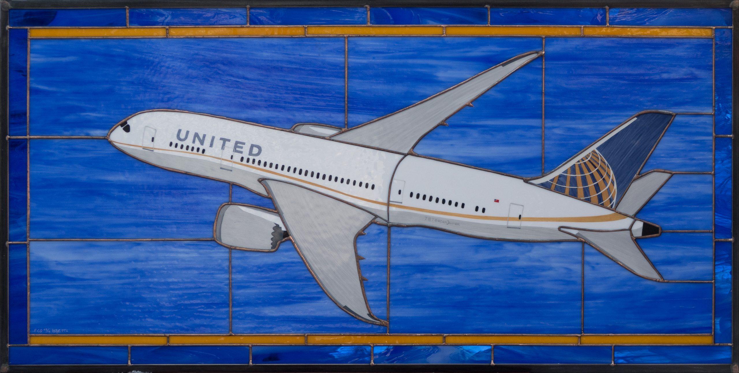 "United Air Lines B787 ""DreamLiner"""