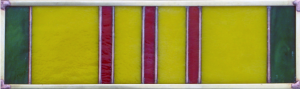 Vietnam Military Ribbon Stained Glass