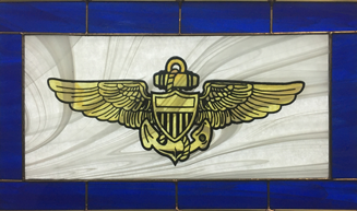 Stained Glass Military Decorations